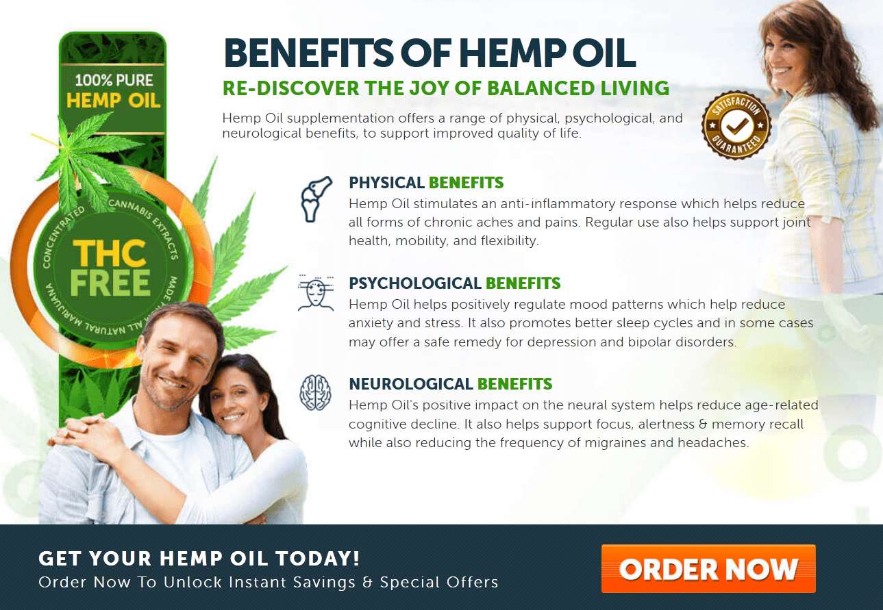 Cannabidiol (CBD) Hemp Oil Benefits